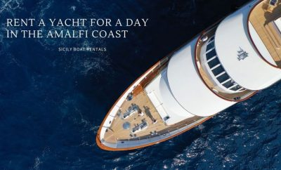 Rent a yacht for a day in the Amalfi Coast