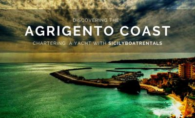 Discovering the Agrigento Coast aboard a boat