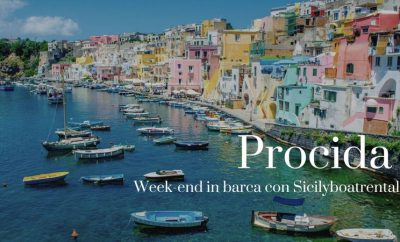 Week-end by boat discovering Procida