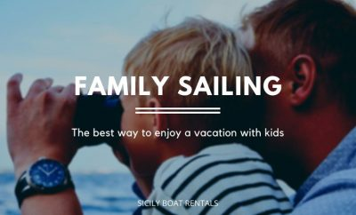 Aboard a boat with your family, the best way not to give up your holidays