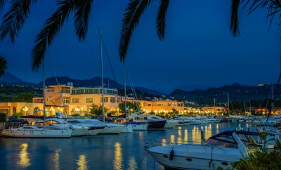 Marina di Portorosa, embarkation point for an exclusive holiday in the Aeolian Islands